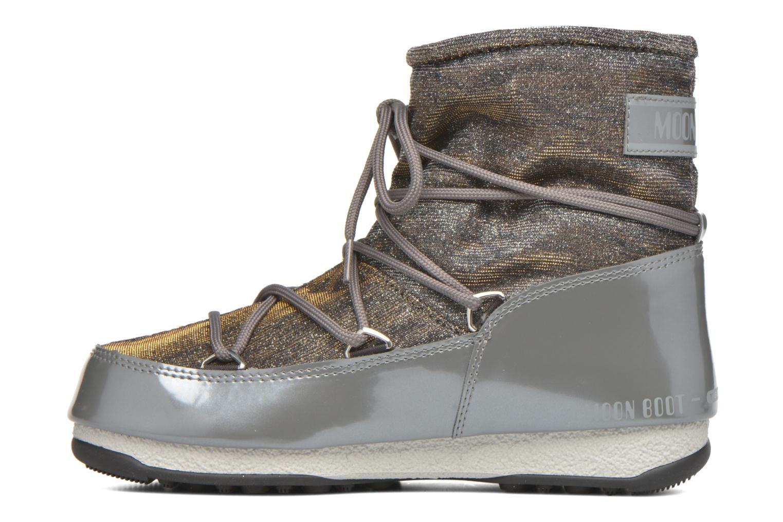 Zapatillas de deporte Moon Boot We Low Lurex Gris vista de frente