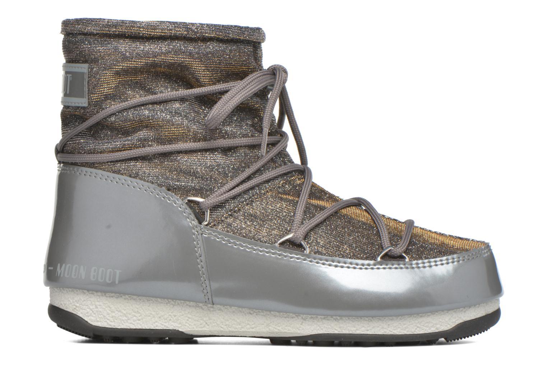 Zapatillas de deporte Moon Boot We Low Lurex Gris vistra trasera