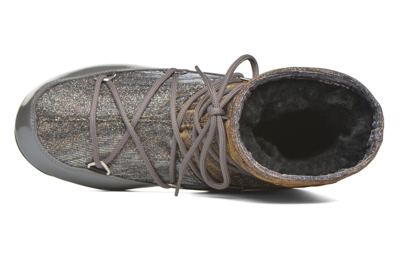 Zapatillas de deporte Moon Boot We Low Lurex Gris vista lateral izquierda