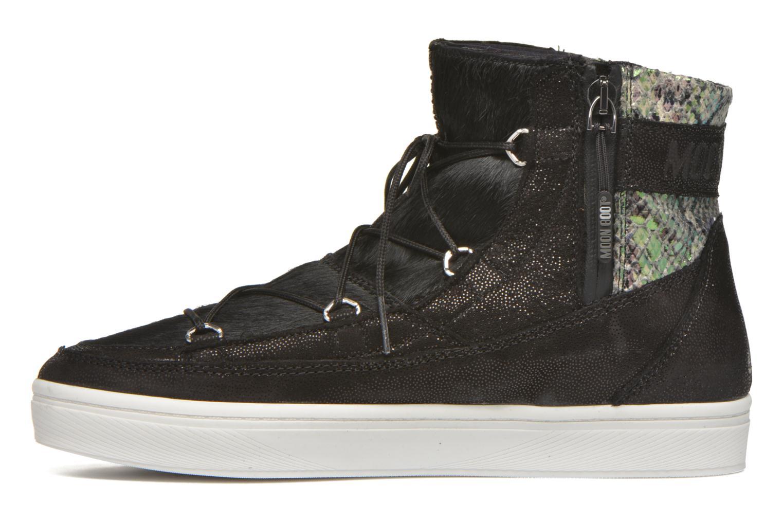 Chaussures de sport Moon Boot Vega Snake Noir vue face