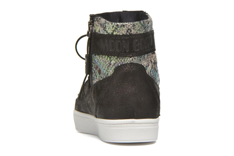 Chaussures de sport Moon Boot Vega Snake Noir vue droite