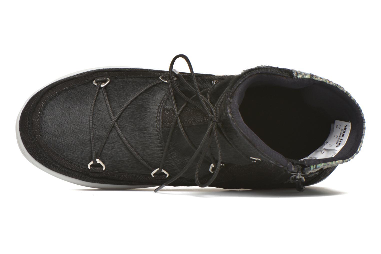 Chaussures de sport Moon Boot Vega Snake Noir vue gauche