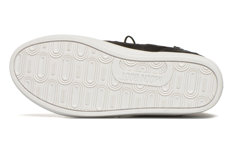 Chaussures de sport Moon Boot Vega Snake Noir vue haut