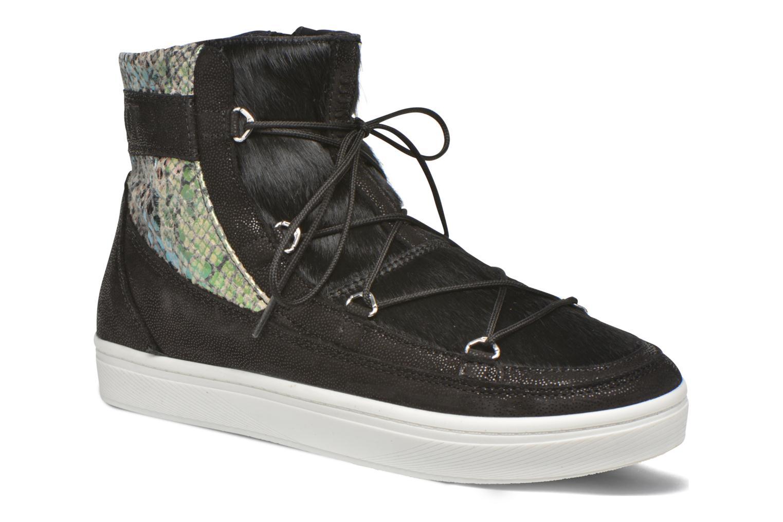 Chaussures de sport Moon Boot Vega Snake Noir vue détail/paire