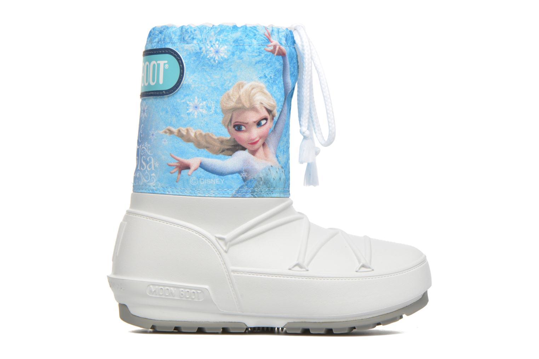 Bottes Moon Boot Moon Boot Pod Jr Frozen Blanc vue derrière