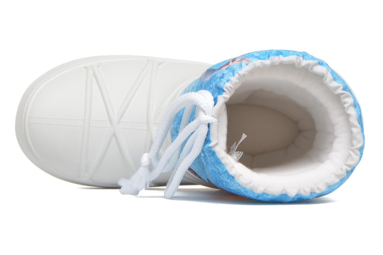 Botas Moon Boot Moon Boot Pod Jr Frozen Blanco vista lateral izquierda