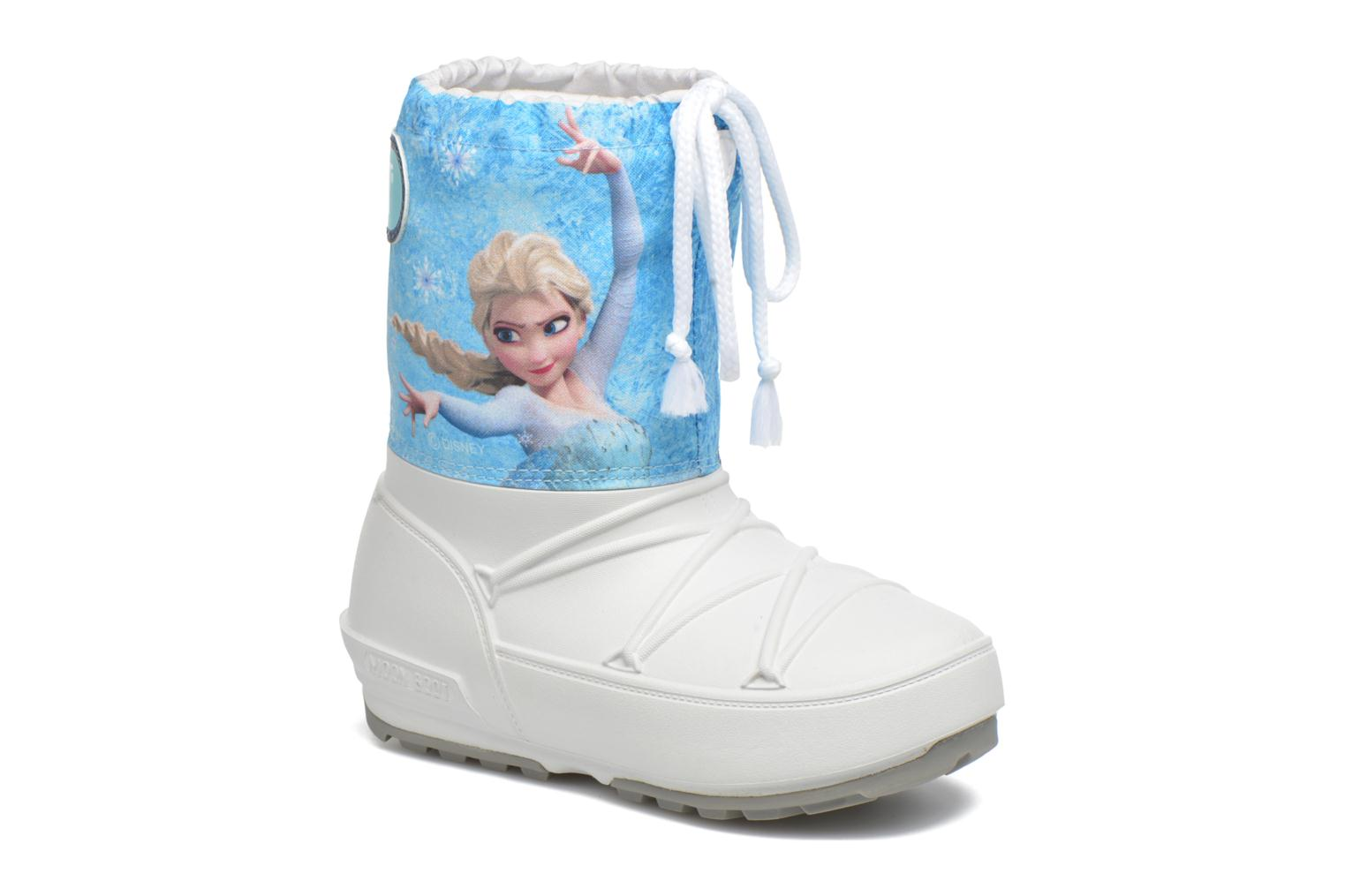 Moon Boot Pod Jr Frozen White/Light Blue