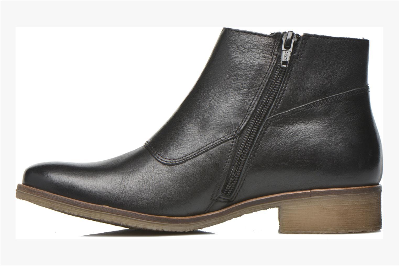 Bottines et boots Kickers Lowork Noir vue face
