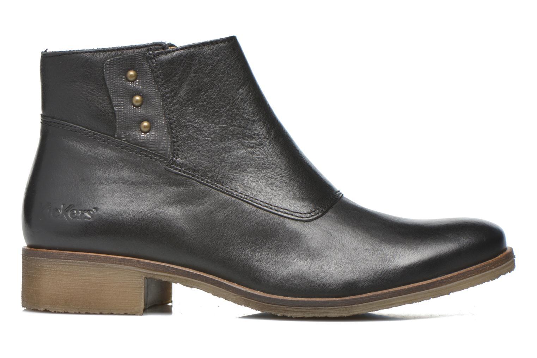 Bottines et boots Kickers Lowork Noir vue derrière