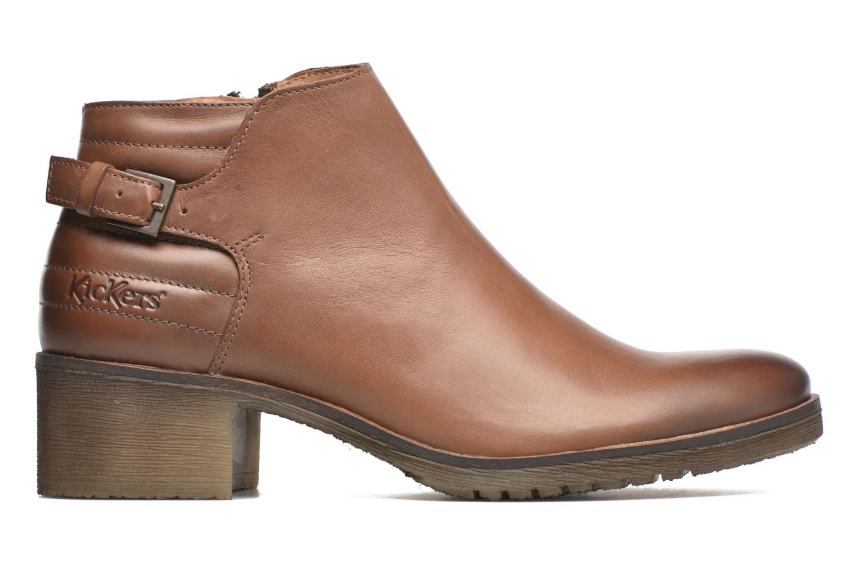 Stiefeletten & Boots Kickers Millcut braun ansicht von hinten
