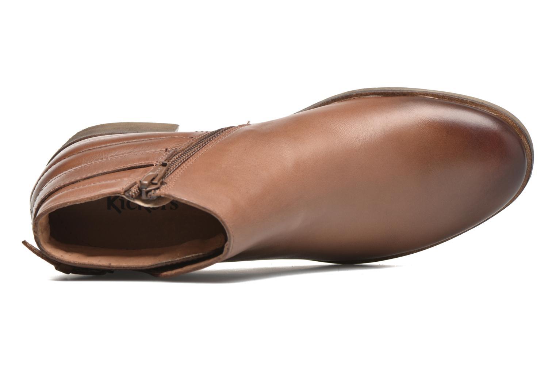 Stiefeletten & Boots Kickers Millcut braun ansicht von links