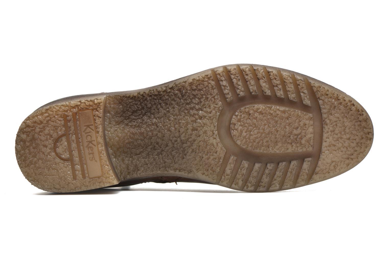 Stiefeletten & Boots Kickers Millcut braun ansicht von oben