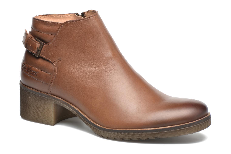 Stiefeletten & Boots Kickers Millcut braun detaillierte ansicht/modell