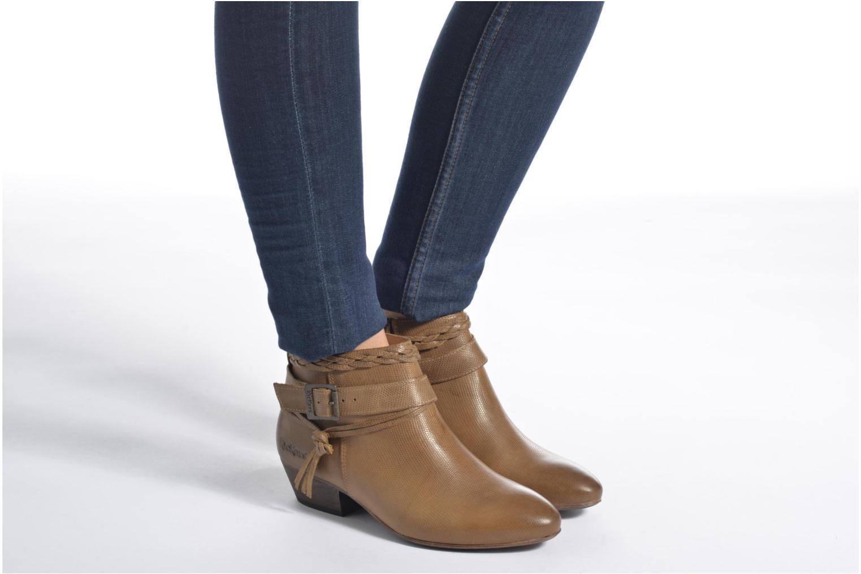 Bottines et boots Kickers Westboots Noir vue bas / vue portée sac
