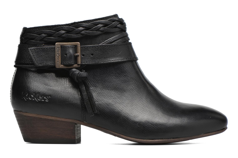 Bottines et boots Kickers Westboots Noir vue derrière