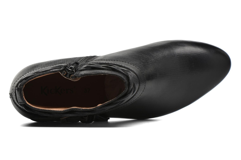 Bottines et boots Kickers Westboots Noir vue gauche