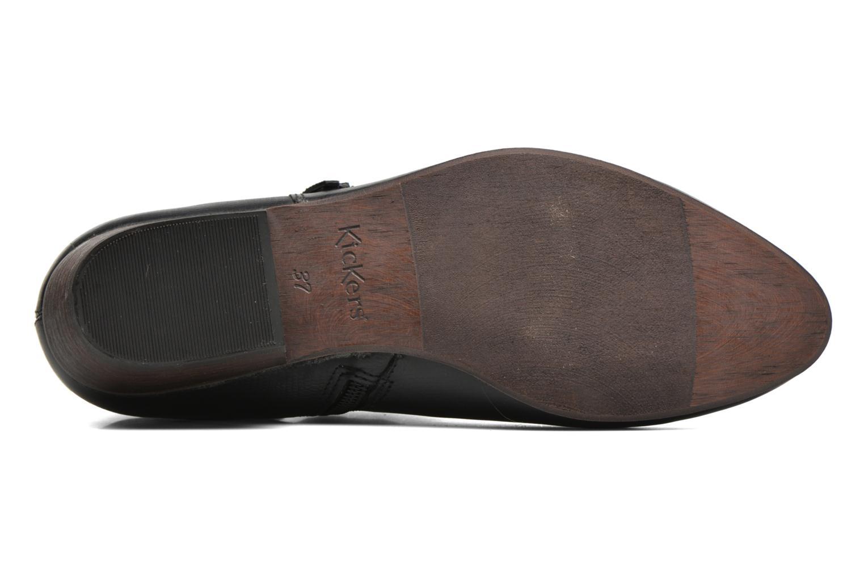 Bottines et boots Kickers Westboots Noir vue haut