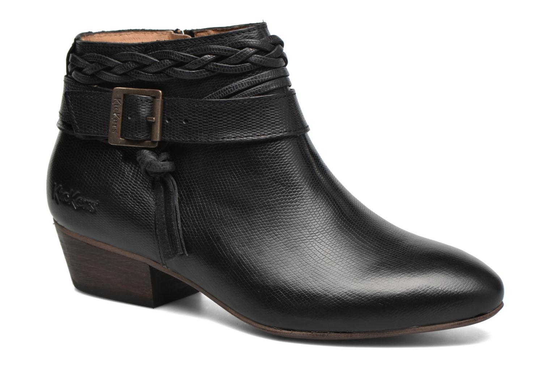 Bottines et boots Kickers Westboots Noir vue détail/paire