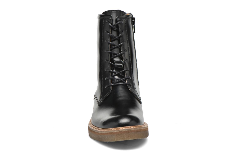 Bottines et boots Kickers Oxfordo Noir vue portées chaussures