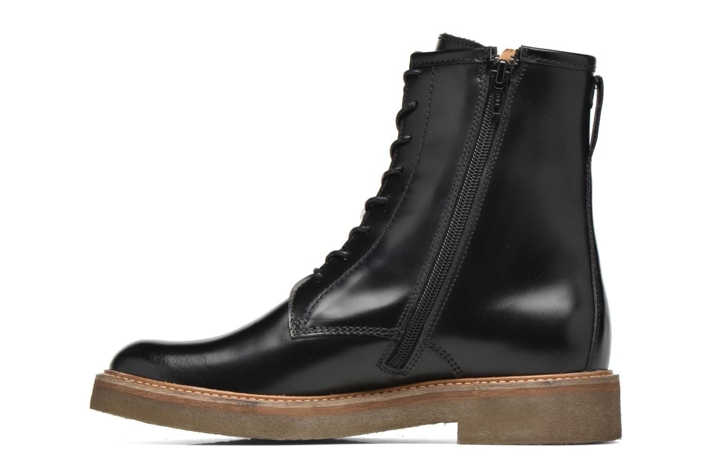 Bottines et boots Kickers Oxfordo Noir vue face