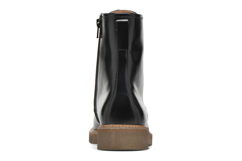 Bottines et boots Kickers Oxfordo Noir vue droite