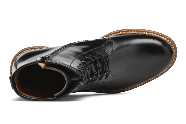 Bottines et boots Kickers Oxfordo Noir vue gauche