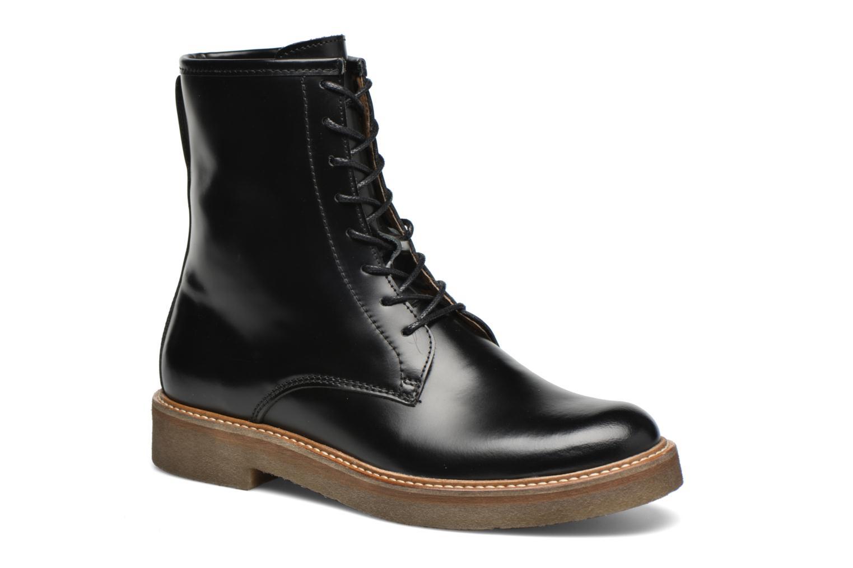 Bottines et boots Kickers Oxfordo Noir vue détail/paire