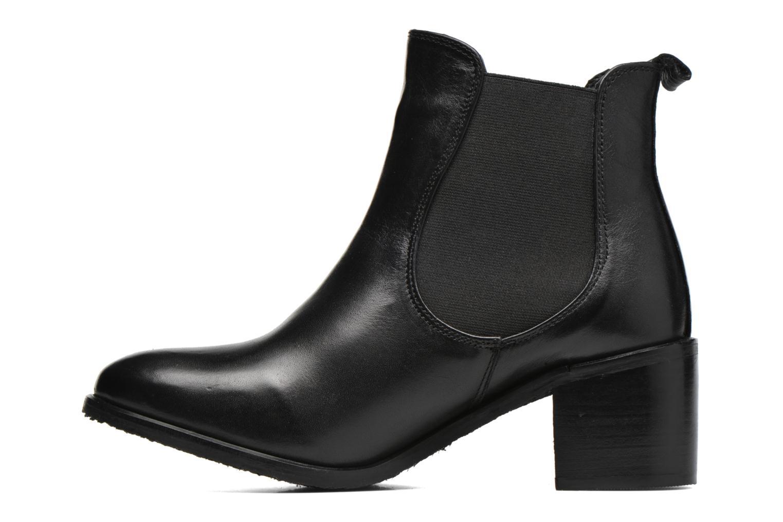Bottines et boots Kickers Cathe Noir vue face