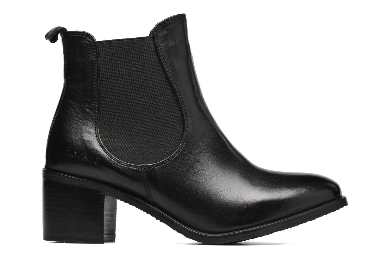 Bottines et boots Kickers Cathe Noir vue derrière