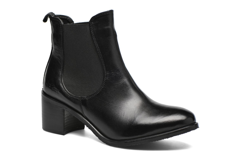 Bottines et boots Kickers Cathe Noir vue détail/paire