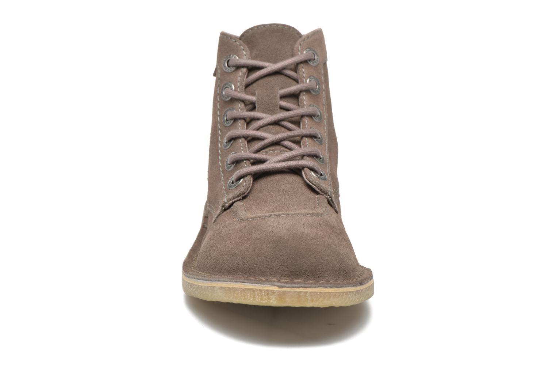 Chaussures à lacets Kickers Orilegend F Beige vue portées chaussures