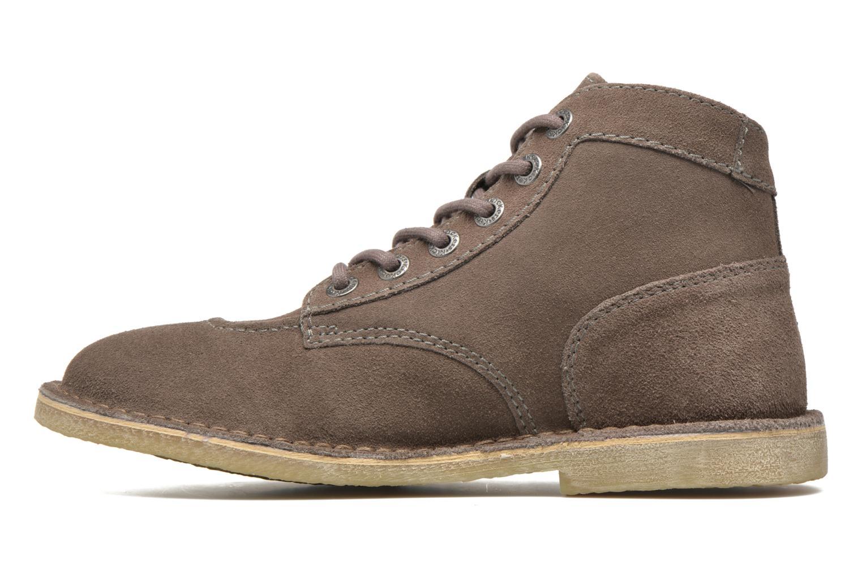 Chaussures à lacets Kickers Orilegend F Beige vue face