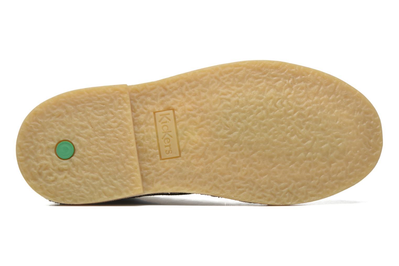 Chaussures à lacets Kickers Orilegend F Beige vue haut