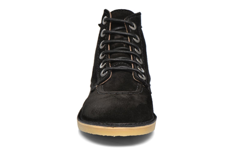 Chaussures à lacets Kickers Orilegend F Noir vue portées chaussures