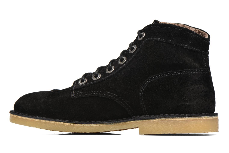 Chaussures à lacets Kickers Orilegend F Noir vue face