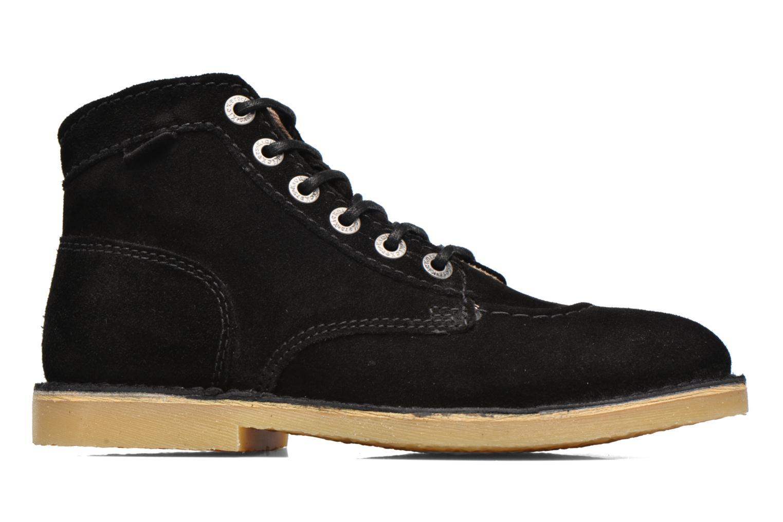 Chaussures à lacets Kickers Orilegend F Noir vue derrière