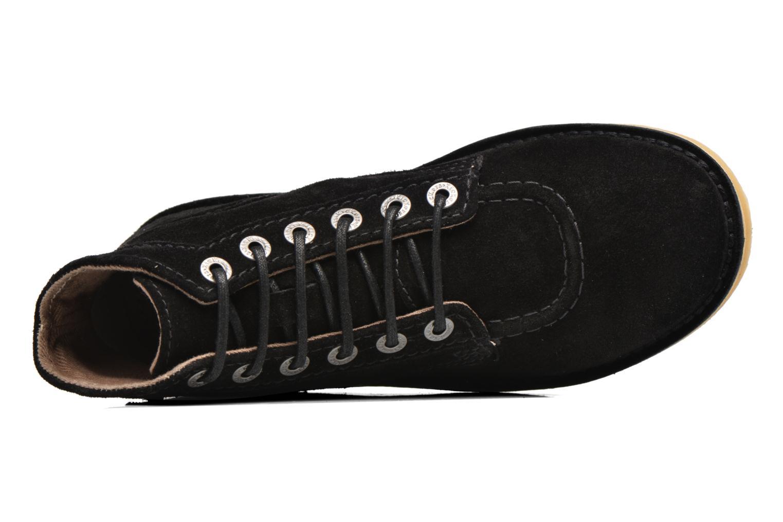 Chaussures à lacets Kickers Orilegend F Noir vue gauche