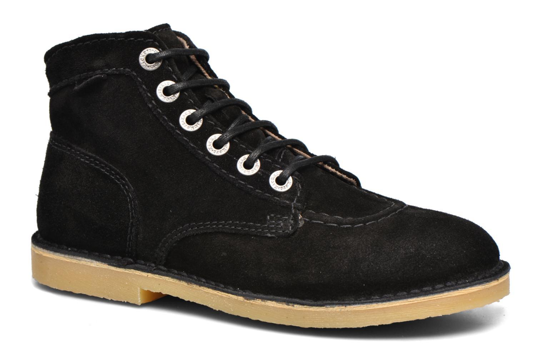 Chaussures à lacets Kickers Orilegend F Noir vue détail/paire