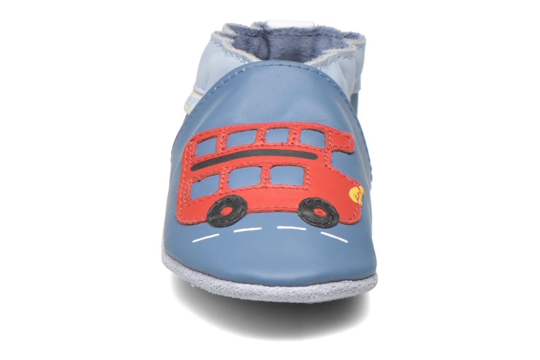Pantoffels Robeez London Street Blauw model