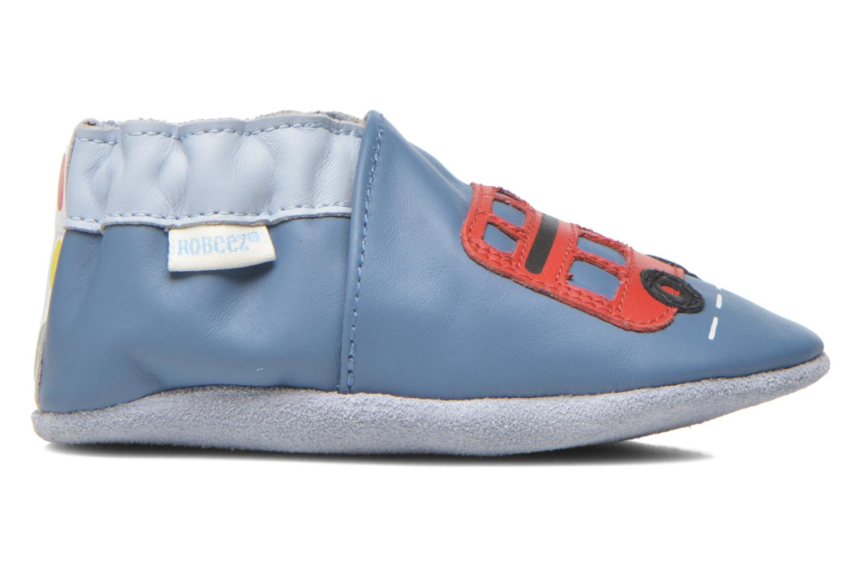 Pantoffels Robeez London Street Blauw achterkant