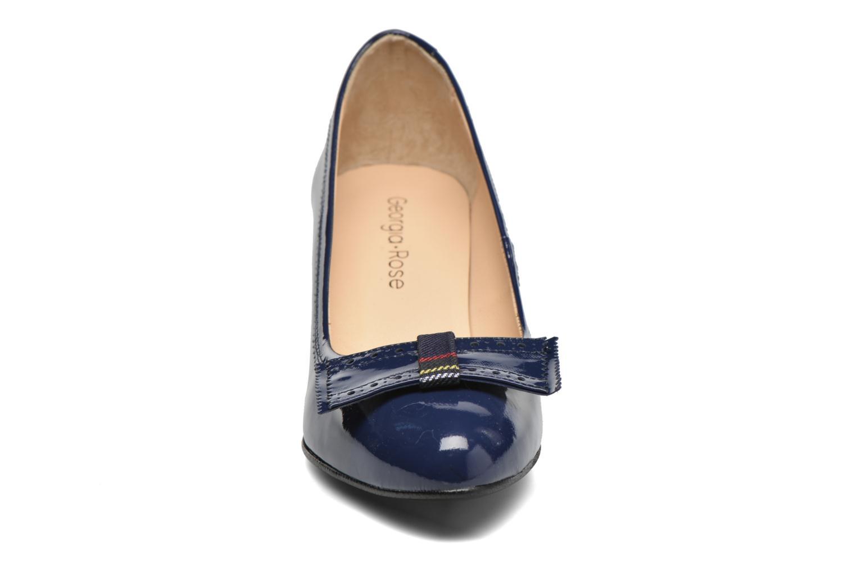 Escarpins Georgia Rose London Bleu vue portées chaussures