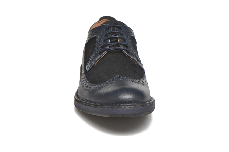 Chaussures à lacets Selected Homme Ronald Bleu vue portées chaussures