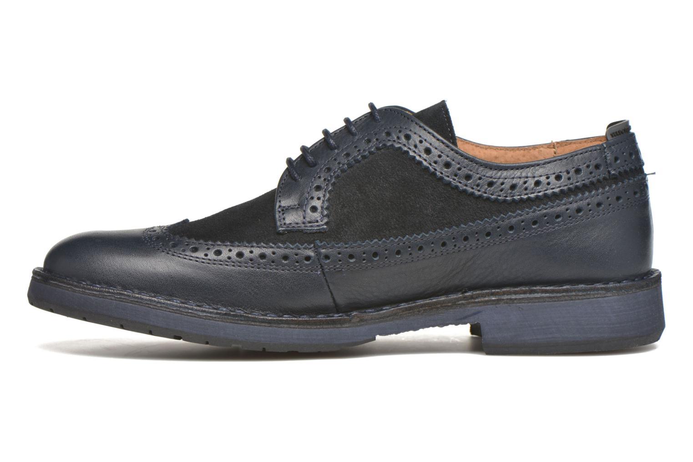 Chaussures à lacets Selected Homme Ronald Bleu vue face
