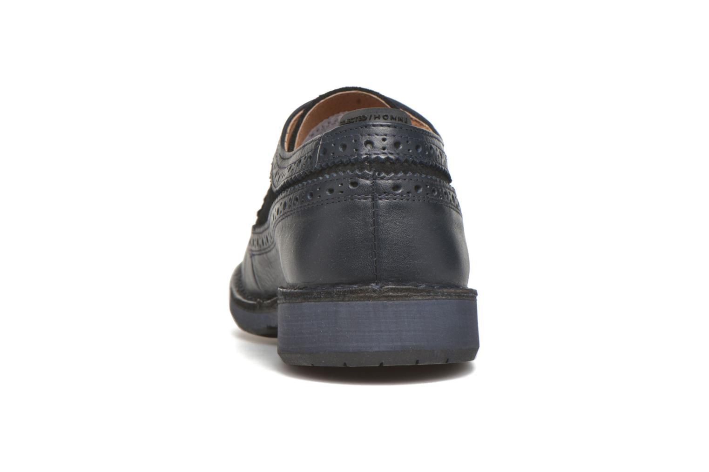 Chaussures à lacets Selected Homme Ronald Bleu vue droite