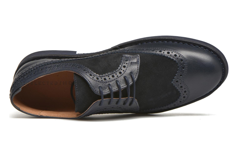 Chaussures à lacets Selected Homme Ronald Bleu vue gauche