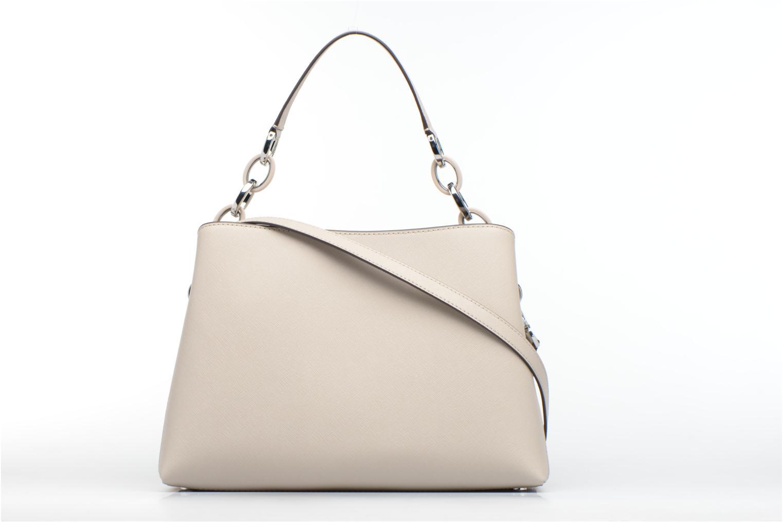 Handtaschen Michael Michael Kors PORTIA LG EW Shoulder grau ansicht von vorne