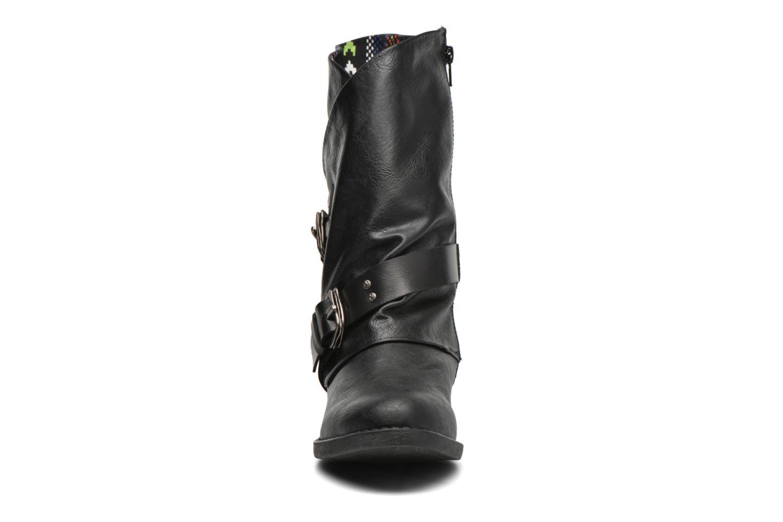 Bottes Blowfish Amanda Noir vue portées chaussures