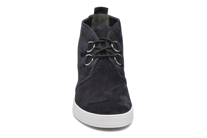 Chaussures à lacets HÖGL Christel Bleu vue portées chaussures