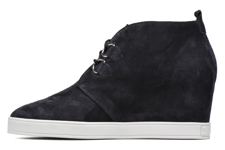 Chaussures à lacets HÖGL Christel Bleu vue face