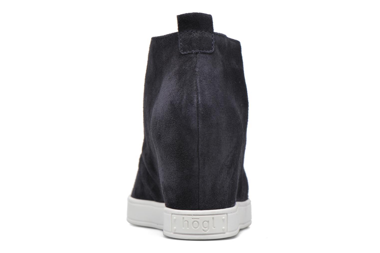 Chaussures à lacets HÖGL Christel Bleu vue droite